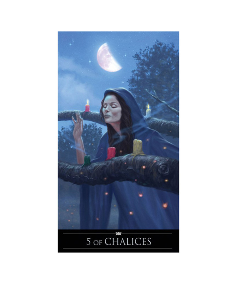 Silver Witchcraft Tarot Cards Kallima